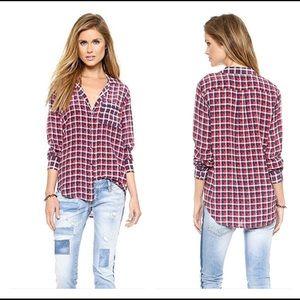 Equipment Keira silk blouse in Streamline Multi